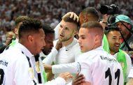 बायर्नलाई निराश पार्दै फ्रान्कफर्ट जर्मन कप विजेता