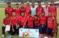 ग्रेट हिमालयलाई सान क्रिकेट कप उपाधि