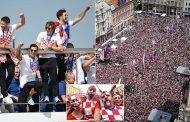 विश्व कप उपविजेता क्रोएसियाी टोलीको पनि घरमा भव्य स्वागत