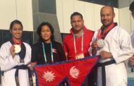 वल्र्ड युनिभर्सिटी तेक्वान्दोमा नेपाललाई ४ पदक