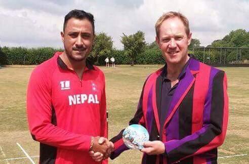 अभ्यास खेलमा नेपाल २ सय ४३ रनले विजयी, कप्तान पारसको शानदार प्रदर्शन