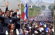 विश्व विजेता फ्रान्सेली टोलीको स्वदेशमा भव्य स्वागत
