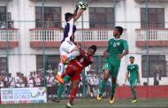 पल्सर सहिद स्मारक 'ए' डिभिजन लिगः एनआरटी रआर्मीबिचको खेलको पहिलो हाफ १–१ गोलको बराबरी