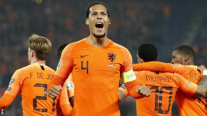 Netherlands van djik
