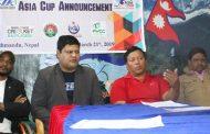 एसिया कप व्हीलचेयर क्रिकेट  बैशाखमा