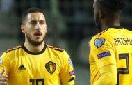 बेल्जियमको जितमा हजार्डको दुई गोल