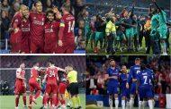 ३५ वर्षपछि चार इंग्लिस क्लब युरोपियन फुटबलको सेमिफाइनलमा