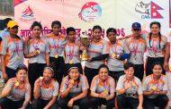 आठौंमा महिला क्रिकेट- एपिएफलाई स्वर्ण