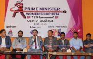 प्रधानमन्त्री महिला टि ट्वान्टी क्रिकेटको खेल तालिका सार्वजनिक