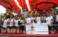 एपीएफलाई उपमेयर कप महिला भलिबलकाे उपाधि,सरस्वती सर्वाेत्कृष्ट