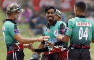 साहबको ७ विकेटको बाबजुद आर्मी पराजित