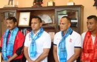 ओलम्पियन विष्टसहित तेक्वान्दोका ४ प्रशिक्षक बेलायत जाँदै