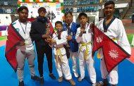 एम के तेक्वान्दोमा नेपाललाई ५ पदक, विश्व उत्कृष्ट रेफ्री