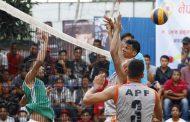 आर्मी र एपीएफको खेल वर्षाले स्थगित
