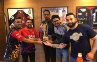 फ्यान कप इन्डोर क्रिकेटमा ८ टोली