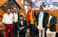 अन्तर्राष्ट्रिय पारालम्पिक कमिटीका अध्यक्ष पर्सन नेपालमा