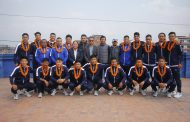 राष्ट्रिय फुटसल टोली इरान प्रस्थान