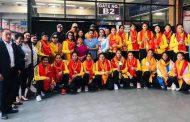 प्रशिक्षणका लागि महिला भलिबल टोली थाइल्यान्ड प्रस्थान