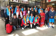 सागको तयारीका लागि बिच भलिबल टोली श्रीलंकातर्फ