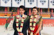 सागकी दाहोरो कास्य विजेता मञ्जुको वैवाहिक जीवन सुरु