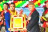 सागका दोहोरो स्वर्ण पदक विजेता मन्डे सम्मानित