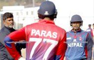 राष्ट्रिय क्रिकेट टोलीको प्रशिक्षण (फोटोफिचर)
