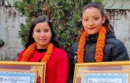 तारकेश्वरका साग पदक विजेता नगदसहित सम्मानित