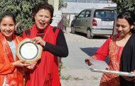 सागकी स्वर्ण विजेता अनुलाई श्रृष्टी स्कुलको सम्मान