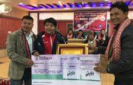 सागको स्वर्ण विजेता तेक्वान्दोकी निशा सम्मानित