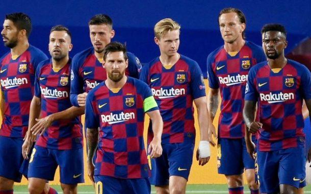 उत्कृष्ट पहिलो हाफसँगै बार्सिलोना क्वाटरफाइनल नजिक