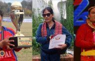 तीन नेत्रहीन क्रिकेटर प्रतिभा पुरस्कारबाट सम्मानित