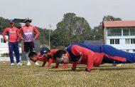 क्रिकेट टोलीको ९ महिनापछि प्रशिक्षण सुरु