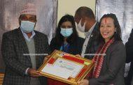 मण्डे, आयशा, सुवाससहित ७ खेलाडी प्रतिभा पुरस्कारबाट सम्मानित