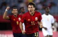 स्पेन ओलम्पिक फुटबलको सेमिफाइनलमा