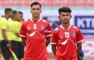 नेपाल यू-२३ को अन्तिम टोली घोषणा