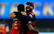 हर्षलको ह्याट्रिक र म्याक्सवेलको उत्कृष्ट प्रदर्शनमा बेंगलोर विजयी